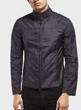 Barbour Coat Mens Barbour Windbreaker  Large Fitted Barbour Jacket Black Casual