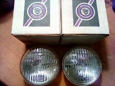 Vintage Arctic Cat Snowmobile Headlights 109-458 General Electric