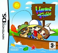 Nintendo DS NDS DSi XL GAME HARVEST FISHING NEW