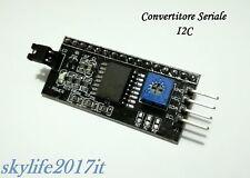 Modulo I2C Convertitore Interfaccia seriale per  Display LCD HD44780 Arduino