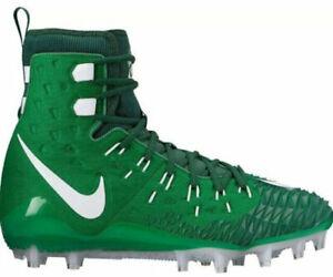 Mens Nike Force Savage Elite TD American Football Cleats Boots Green UK 9
