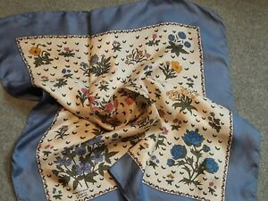 Lovely Vintage Liberty of London Silk Scarf. Floral