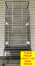 "74"" Extra Large Tall 4 Level Wrought Iron Ferret Chinchilla Sugar Glider Cage150"