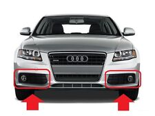 AUDI NEW GENUINE A4 B8 2008-2012 BUMPER O/S RIGHT LEFT N/S FOG LIGHT GRILL PAIR