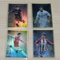 【soccer】Messi.Ronaldo(CR7).Özil.Griezmann trading card.WCCF FOOTISTA.lot of 4.