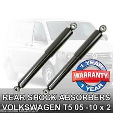 VW Volkswagen T5 Transporter Pair Rear Shock Absorbers Shockers Shocks Dampers