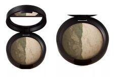 Laura Geller Marble Matte Baked Shadow Duo PEACHES CREAM GREEN TEA New $24