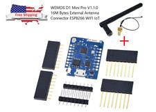 WEMOS D1 Mini Pro V1.1.0 16M Bytes External Antenna Connector ESP8266 WIFI IoT