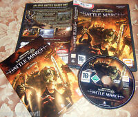 MARK OF CHAOS BATTLE MARCH exp  iTALIAN LANGUAGE  ISSUE PC  2008 rare VGC