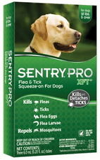 Sentry Pro XFT40Flea & Tick  Mosquitoes 6 month over 61 pound Dogs