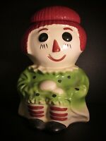 Vintage McCoy RAGGEDY ANN COOKIE JAR Made in U.S.A. ~ Sweet!