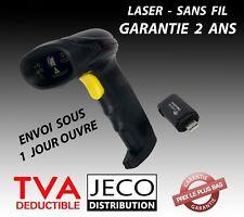 Lecteur Code Barre Douchette  Laser Sans Fil scanner USB barcode reader WIFI