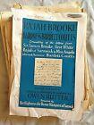 Owen Rutter - Manuscripts & Letters - Rajah Brooke and Baroness Burdett Coutts