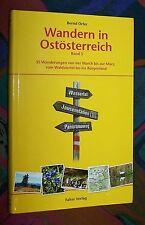 Wandern in Ostösterreich - Waldviertel March Mürz Burgenland ... # Falter Verlag