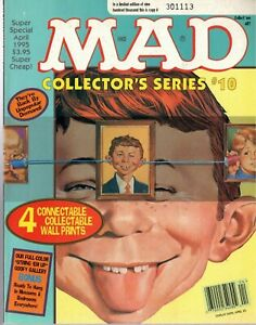 Mad Magazine, Super Special #103 April 1995 Collector's Series#10 ~ Very Good