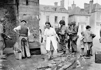Photo WW2 débarquement de Normandie soldats us américains format 10x15 cm n455