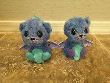 Hatchimals Twin Peacats Purple And Blue
