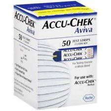 Brand New Accu-Chek Aviva Blood Glucose Test (50 Test Strips)