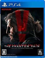 Used PS4 METAL GEAR SOLID V SONY PLAYSTATION 4  JAPAN  JAPANESE JAPONAIS IMPORT