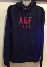 ABERCROMBIE & FITCH MEN`S A & F ACTIVE 1892 NAVY BLUE OR GRAY, L OR S HOODIE NEW