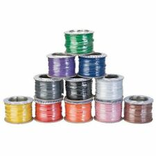 1/0.6 Equipment Wire 1 Reel of Each Colour 100m Reels
