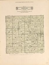 1931 Swift County plat maps Minnesota Genealogy history Atlas Land P160
