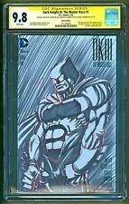 Dark Knight III DK 3 Batman Frank Miller Original Art Sketch CGC SS 9.8 Batfleck