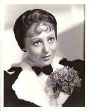 LUISE RAINER Original Vintage 1937 Clarence Bull Stamped MGM Portrait Photo