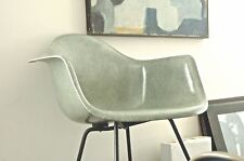EAMES 1949-50 1st YEAR ZENITH ARM SHELL ROPE EDGE/DOMES OF SILENCE/ SEAFOAM GRN.