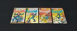 BLACKHAWK 4 ISSUE DC BRONZE AGE COMIC LOT #244 245 246 247