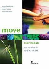 Move Intermediate Coursebook with CD-ROM, Holman, Angela, Milne, Bruce G., Webb,