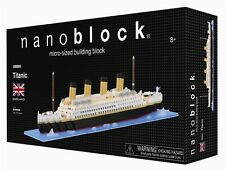 Titanic Nanoblock Micro sized building block construction toy mini block Kawada