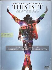 =DVD MICHAEL JACKSON's - THIS IS IT / POLISH EDITION // DVD digibook from Poland