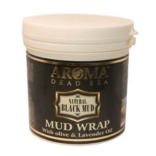 Natural Black Mud Wrap Aromatic Oils Aroma Dead Sea Minerals Cosmetics 20oz/570g