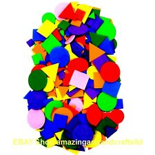 Foam Shapes 200 Assorted Colours and Sizes by Amazing Arts and Crafts