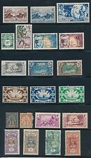 1892-1963 French Polynesia (26) ALL DIFFERENT; BEAUTIFUL HI VALUES; CV $90