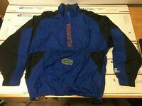Florida Gators Starter Windbreaker/ Pullover Jacket Men's Size L 1/2 Zip