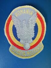Aviation Military Patch Romania Wings  Romanian Army uniform