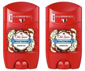 ✅Old Spice Wolfthorn Deodorant Deo Stick Deostick ohne Aluminium Herren 2x 50ml✅