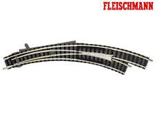 Deviatoio destro in curva funzionamento manuale Fleischmann 9169 N 1 160