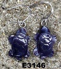 E3146 Wampum Earrings Dangle