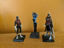 Mystique, Nightcrawler, Gambit Die-Cast Eaglemoss figurines, no magazines