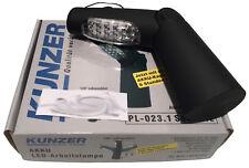 KUNZER PL-023.1 Akku LED Arbeitslampe Werkstattleuchte 23LED 2000mAh schwarz