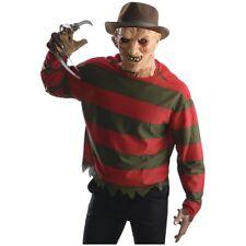 Freddy Krueger Costume Adult Nightmare on Elm Street Halloween Fancy Dress