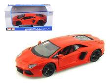 2011 Lamborghini Aventador LP700-4 Orange 1/24 Diecast Car Model By Maisto 31210