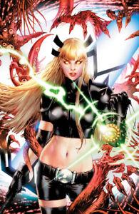 STRANGE ACADEMY #8 (JAY ANACLETO EXCLUSIVE VIRGIN VARIANT)(2021) COMIC ~ Marvel