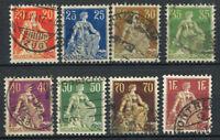 Schweiz 1908 Gestempelt 100% Sitzende Helvetia