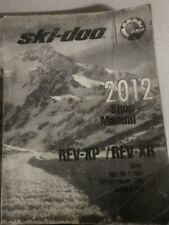 2012 Ski Doo SKI-DOO REV XP REV XR Service Shop Repair Workshop Manual NEW
