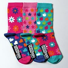 Floral Ankle Socks & Tights (2-16 Years) for Girls