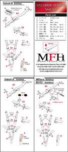 Model Factory Hiro Seat Belt Set - Red for 1/12 scale F1 Racing Car Models